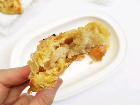 蛋挞皮不单单只能做蛋挞,还可制作香蕉派,香甜软糯孩子喜欢吃