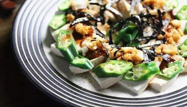 美食推荐:豆腐秋葵冷拌山药,蒜泥白肉,肉末海带丝,粉蒸排骨