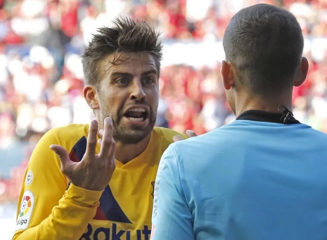 西班牙足协竞赛委员会正调查皮克此前指控裁判偏袒皇马的言论……