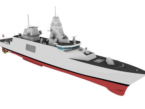 """""""节俭""""的比利时海军,新一代护卫舰,只安装8单元MK41垂发系统"""