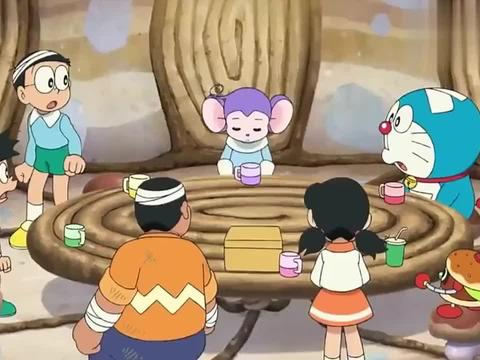 哆啦A梦:经过阿龙一番话,大家终于团结一致,共御外敌!