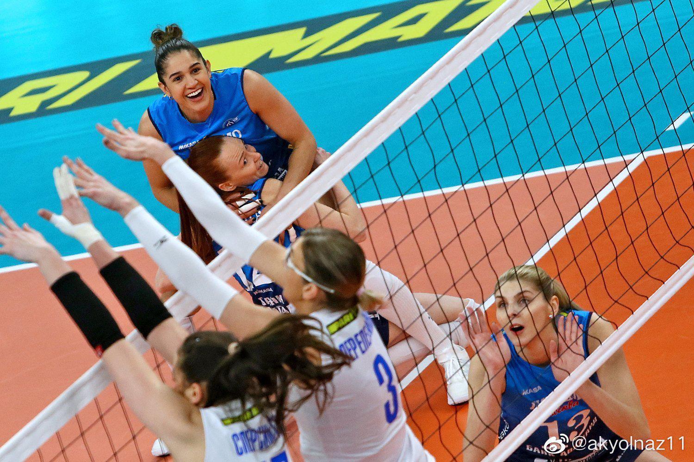 2020-2021赛季俄罗斯女排超级联赛第二十二轮……