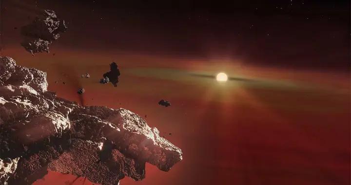 科学家在白矮星中发现类地行星地壳残余物