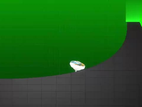 超变战陀:毒牙蛇喷射毒液,疾风马根本不变身,光靠陀螺形态抵御
