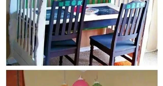 孩子长大后,婴儿床还可以改造做别的用途