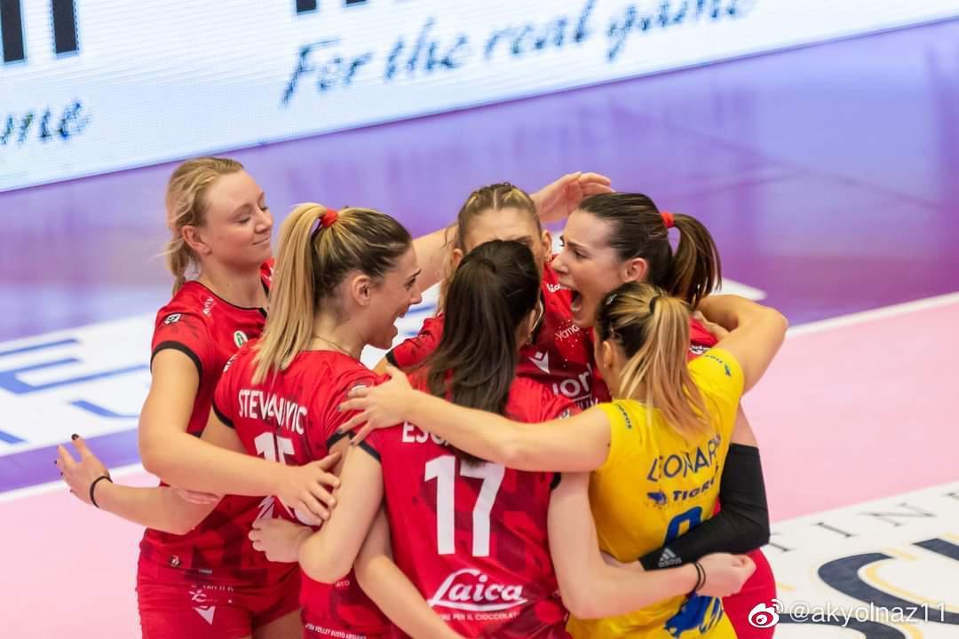 2020-2021赛季意大利女排超联赛第二十三轮……