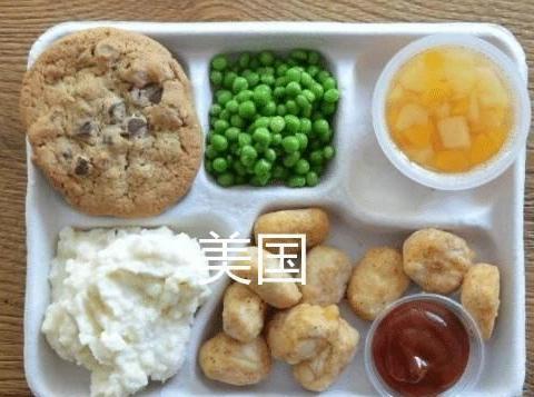 """各国小学生""""午餐""""对比,韩国泡菜日本便当,网友:中国最丰富"""