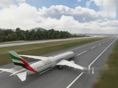 XPLANE11:驾驶阿联酋航空公司787-10,降落在普吉机场