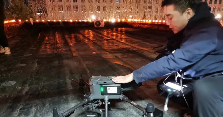 热成像识别,30倍变焦镜头取证!平谷多种无人机联动查违规燃放