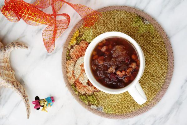 味达美名厨福气汁,新春添口福,  红豆薏米银耳羹