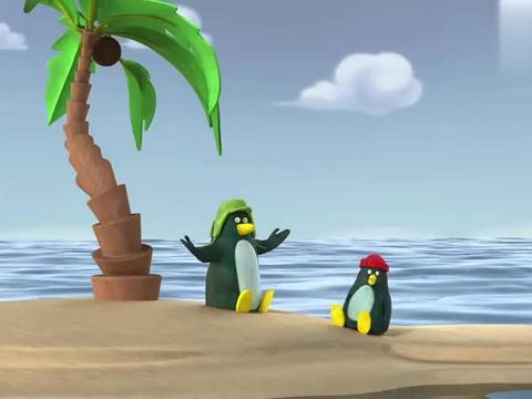 企鹅憨兄弟:企鹅正享受日光浴,却被海豹一个喷嚏又变成冰天雪地