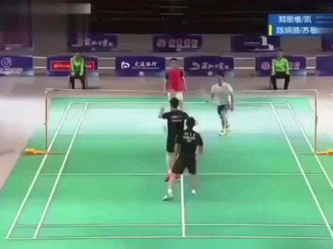 羽毛球:郑思维和苏卡穆约搭档男双,没见过吧