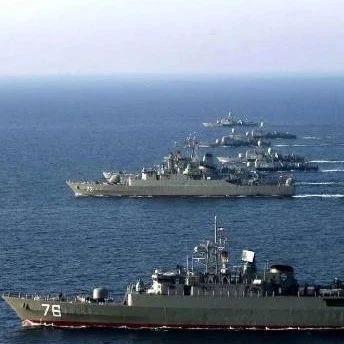 伊朗俄罗斯在北印度洋海域举行联合海军演习