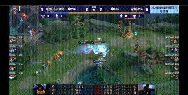 王者荣耀:冬季冠军杯总决赛,南京Hero 久竞 对战深圳 DYG图3