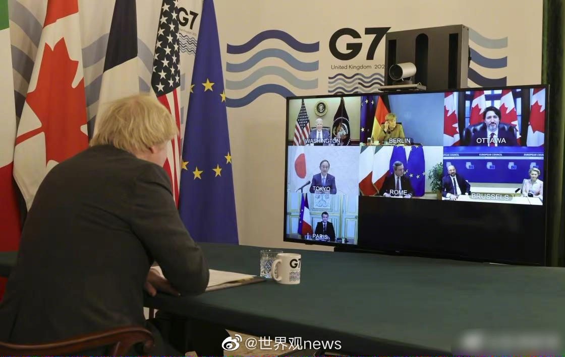 当地时间2月19日,七国集团(G7)领导人召开视频会议……