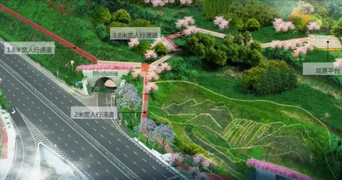 几江长江大桥北桥头可以观江津全景了