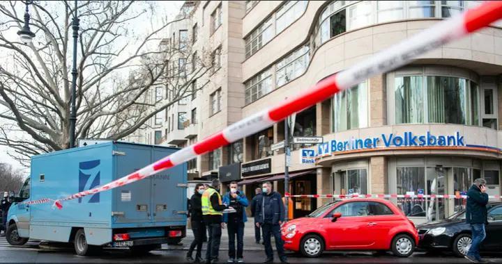 德国柏林市中心发生运钞车劫案 案发经过犹如电影大片