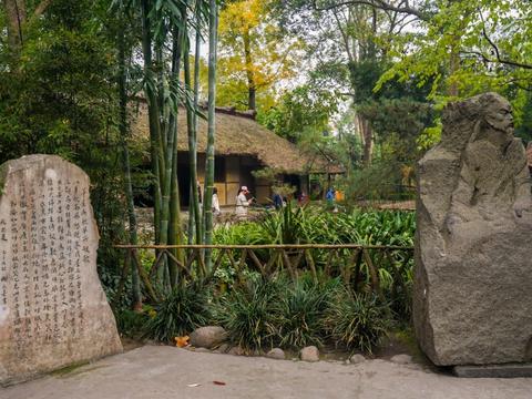 昔日的茅草屋,今成国家一级博物馆,堪称中国文学史上的一块圣地