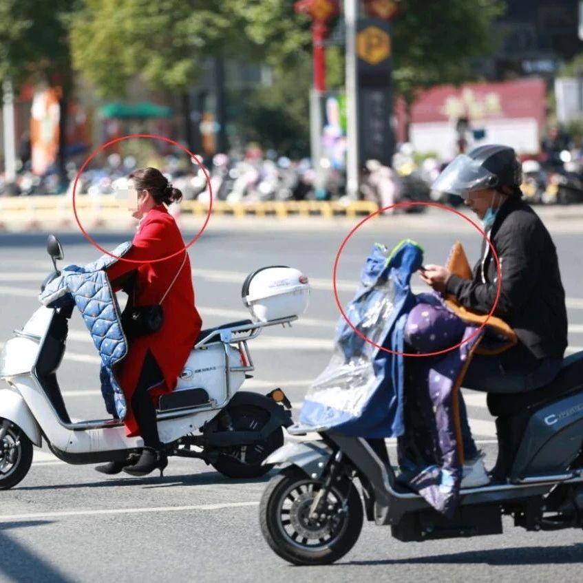 单手骑车、玩手机、不戴安全头盔……