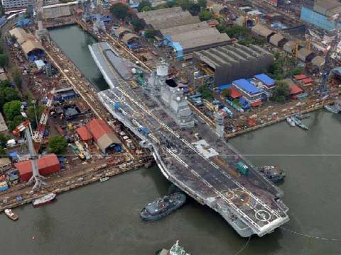 印度国产航母没服役,二手航母又要大修了,还得请俄罗斯专家帮忙