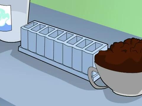 大头儿子小头爸爸:妈妈新品出炉,做了红豆雪糕,大家有口福了