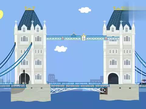 女王开车技术真不错,一下把车开飞,带着大家飞跃断桥