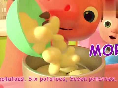 好吃的土豆泥,你一碗我一碗,大家一起分享