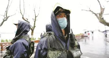 断桥边,那些绿色的身影——连线武警浙江总队杭州支队某中队