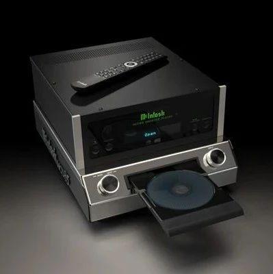 【新品】同时满足视觉与听觉的享受: 麦景图(McIntosh) MCD85 SACD/CD唱盘
