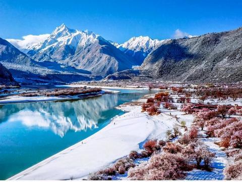 """【新春走基层】雅鲁藏布江畔雪山峡谷中的女""""掌柜"""""""