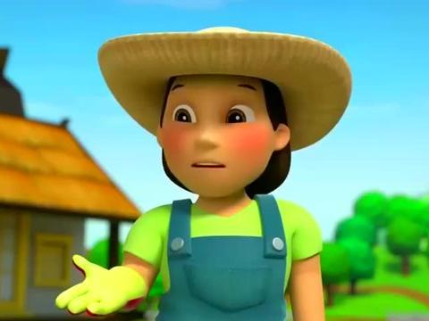 汪汪队:莱德让灰灰找出旧的狗笼,天天负责送到农夫由美的农场!