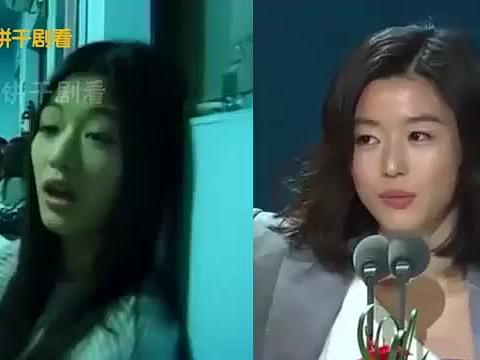 韩流女星今昔对比,李英爱 全智贤 秋瓷炫,谁都抵不过岁月变迁