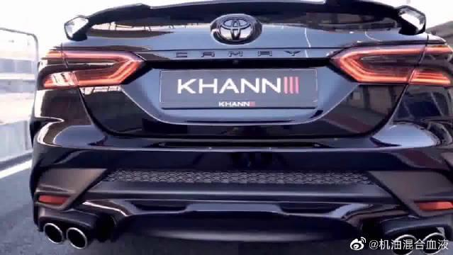 视频:改装全新八代凯美瑞,20万级别家用车,这还看啥大众迈腾!