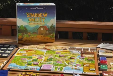 《星露谷物语》实体桌游现发售 合作保护小镇赶走公司