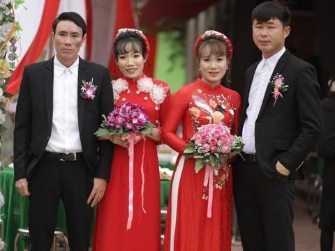 姐妹俩同时结婚但要求宾客随2份礼金,称家里没钱办两次婚礼