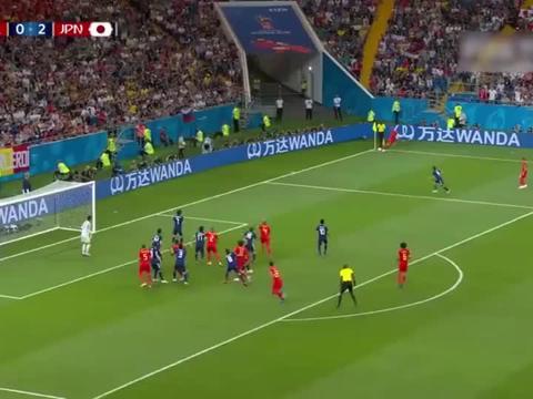 足球:真是一记精准的射门,比利时球员果然不能小觑