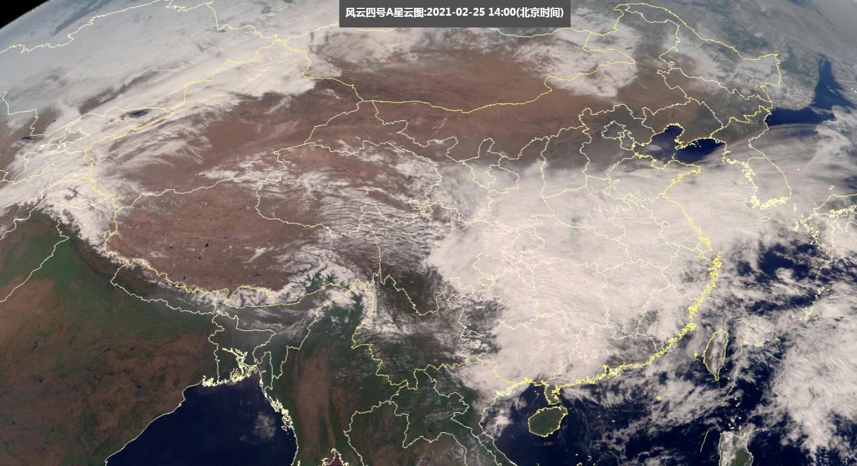 大西洋雪云逼近新疆,大沙漠将全面下雪!权威预报:要扩展到东部