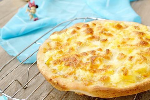 炼奶芒果香蕉披萨