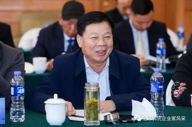 郭玉清:企业资产过亿,向社会捐款,建郭氏祠堂捐资100万元