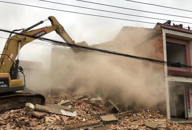 蔡甸经开新春拆除近1.5万平方米 为重点项目开路
