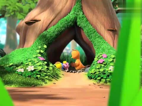 多多公主要求从做花环,萌鸡骑士转手把花环送给小马公主!