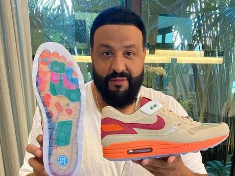 "DJ Khaled 晒 CLOT x Nike""死亡之吻"""