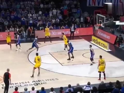 这场欧洲篮球联赛怎么样,技术扎实,团队配合默契