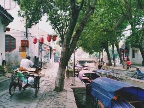 比乌镇人少比周庄淳朴,低调景美值得一去,古镇距上海1.5h