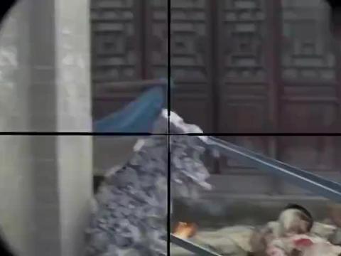 一剑横空:鬼子用八倍镜瞄准八路战士,不料被战士一枪爆头,精彩