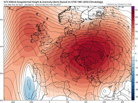 大西洋暖潮冲入北极,挪威全零上!网友:会不会把倒春寒捅下来?
