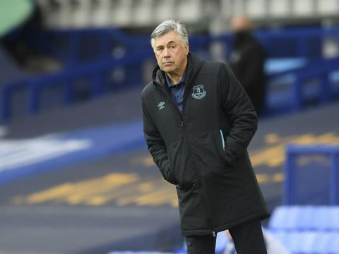 安切洛蒂:希望在埃弗顿待尽可能长的时间,带球队迁入新球场