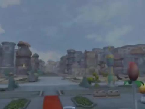 双头恶龙击败国王军队,猪猪侠也成了阶下囚,被五花大绑在柱子上