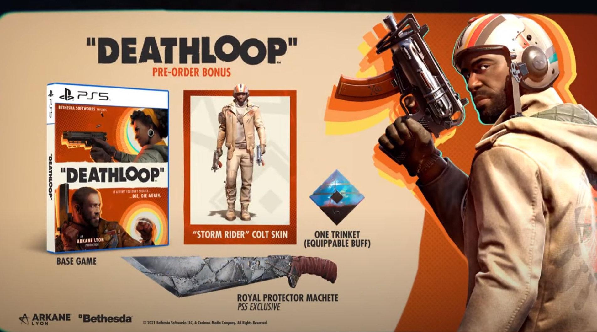 PS5《Deathloop》State of Play 游戏宣传片……