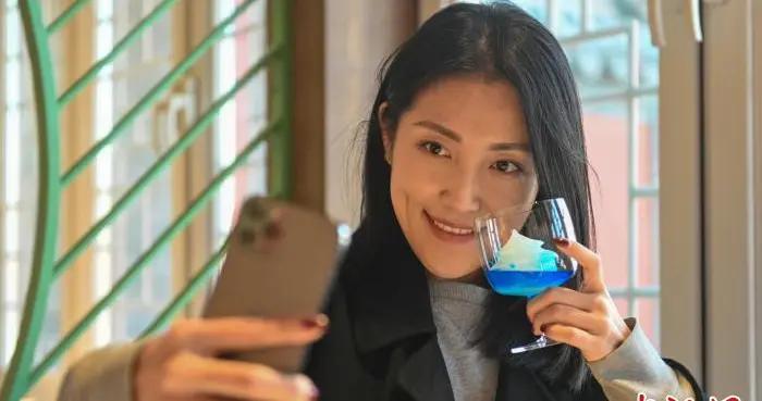 沈阳故宫清文化元素主题咖啡馆开业